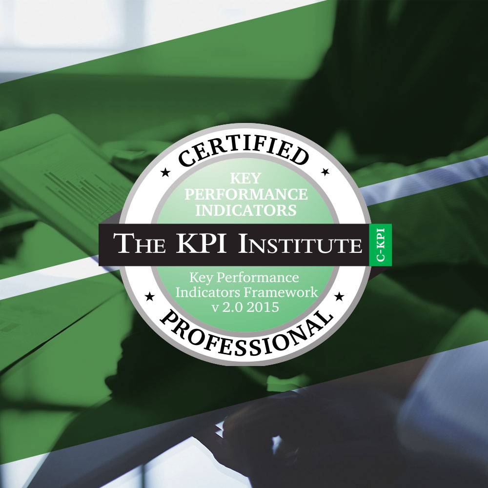 Certified KPI Professional - The KPI Institute (Cuarta Edición ...